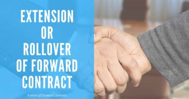Extension of Forward Contract