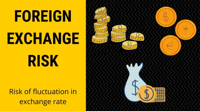 Foreign Exchange Risk and 3 Types